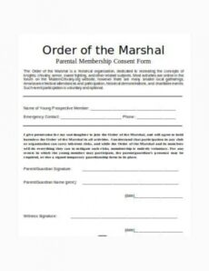Best Child Guardianship Will Template Excel