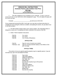 Costum Last Will And Testament Template For Married Couple Pdf