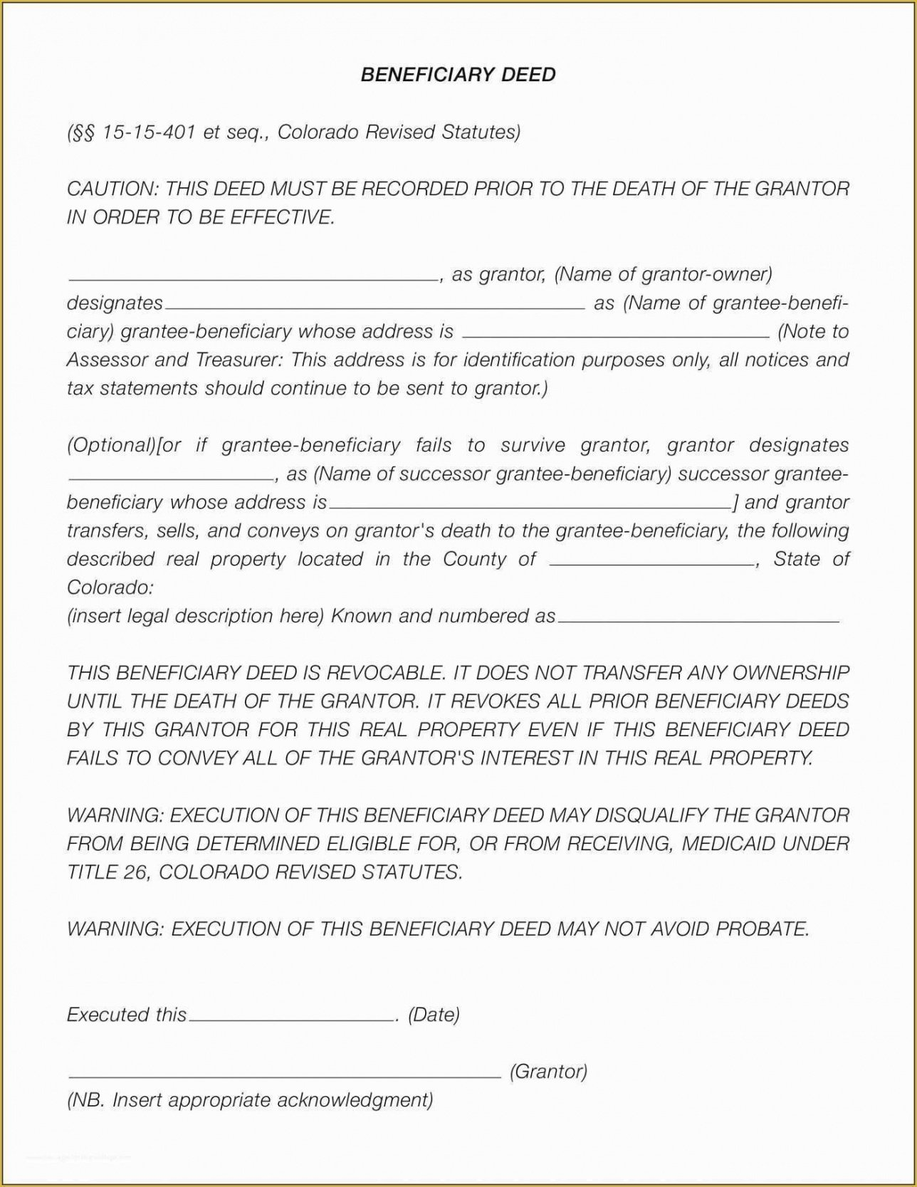 Standard Last Will And Testament Template Pdf Example