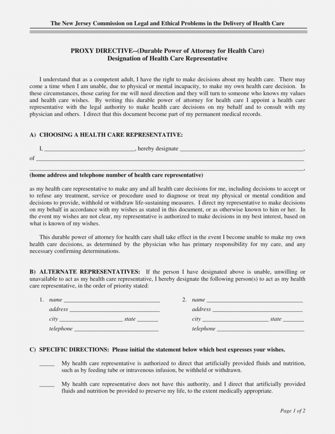 Printable Kentucky Living Will Template Doc Example