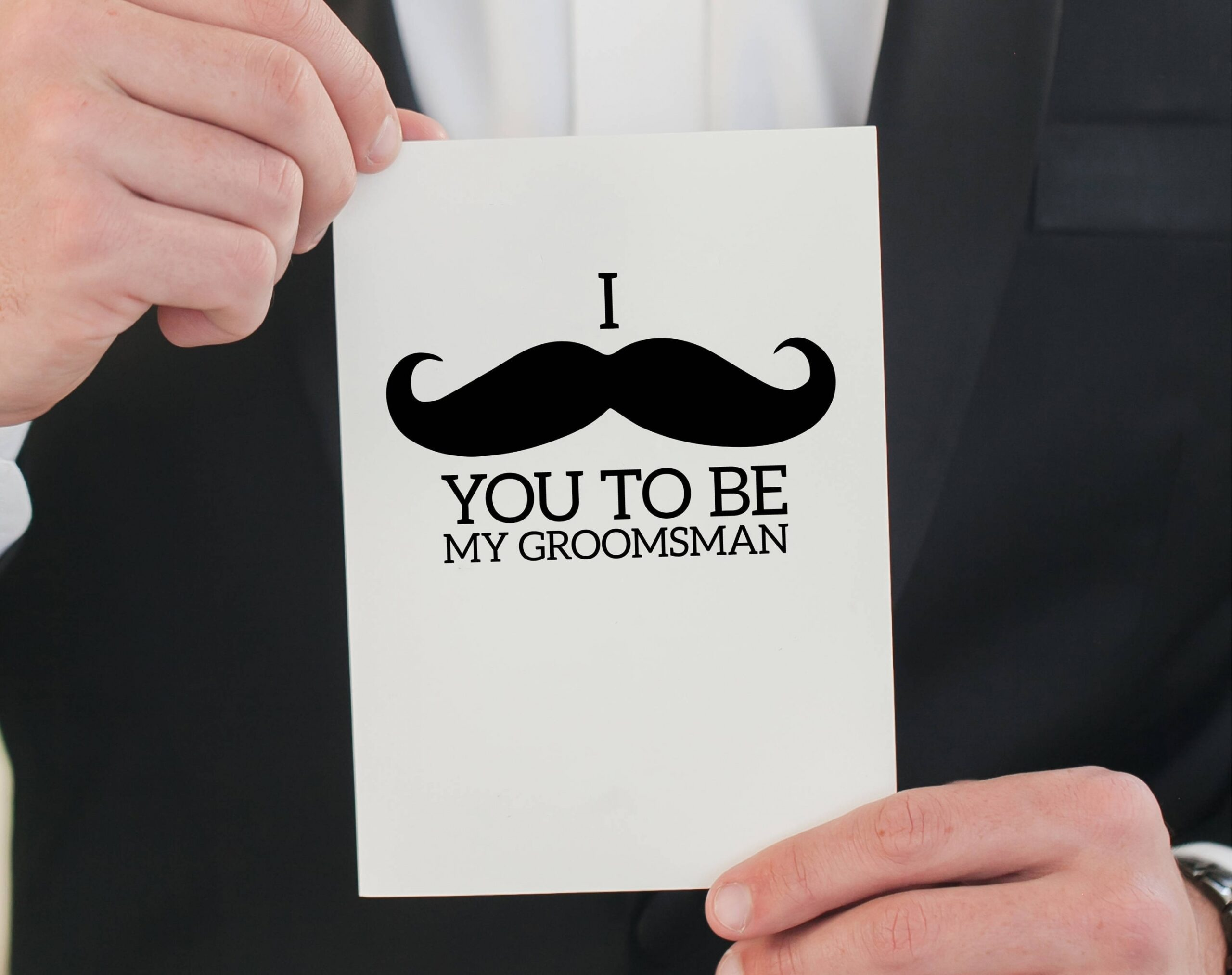 Costum Will You Be My Groomsman Template Doc