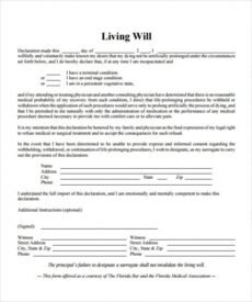 Printable Last Will And Testament Template Idaho Excel Sample