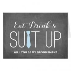 Professional Will You Be My Groomsman Template Pdf Example